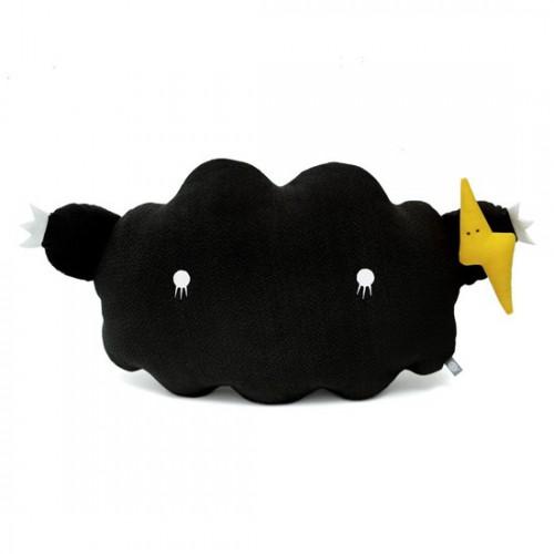 Coussin Nuage noir