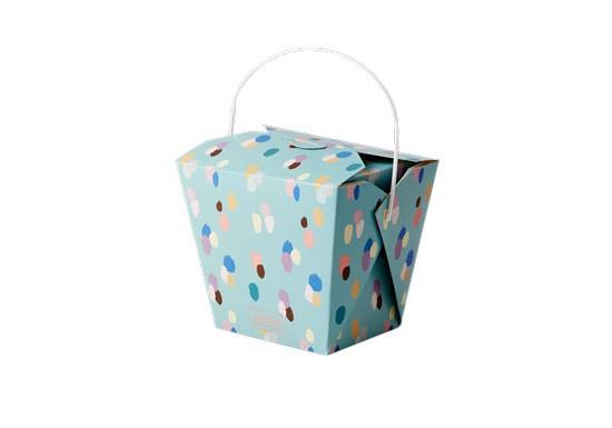 6 grandes boîtes à emporter chinese box