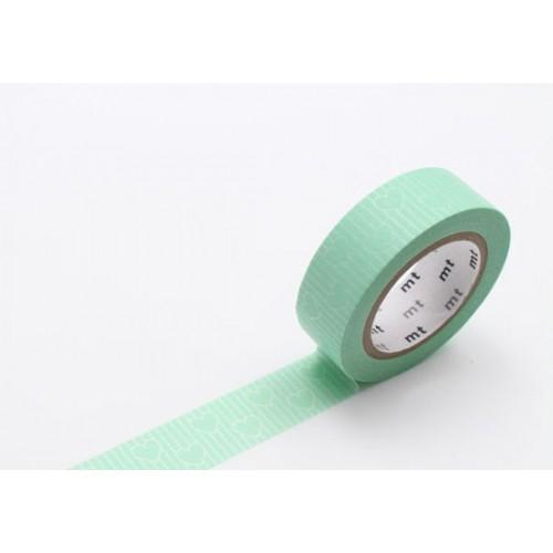 Masking Tape déco - Heart line