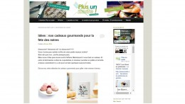 Blog Plus un zeste